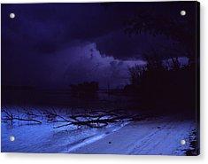 Storm At Dawn Acrylic Print