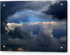 Storm Brewing Acrylic Print by Frank Blakely