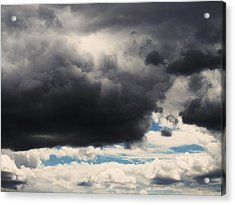 Storm Clouds-1 Acrylic Print by Todd Sherlock