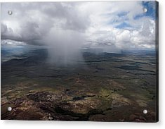 Storm Clouds Hover Above The Highlands Acrylic Print by Bobby Haas