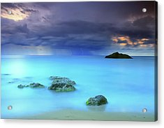 Storm Acrylic Print by Oscar Gonzalez