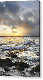 Storm Waves Acrylic Print
