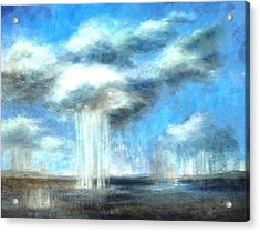 Storm's A Comin' Acrylic Print by Lisa Masters