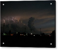 Storm's Brewing Acrylic Print by Tracy Eaker-Vann