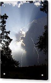 Storm's Edge Acrylic Print
