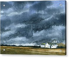 Storms Of Life Acrylic Print by Marsha Elliott