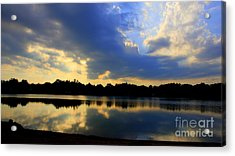 Storms  Over Acrylic Print
