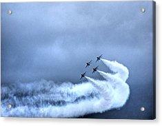 Stormy Air Show Acrylic Print