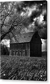 Stormy Acrylic Print by Bonnie Bruno