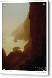 Stormy Coast Acrylic Print