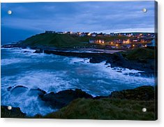 Stormy Coast, Scotland Acrylic Print by Duncan Shaw