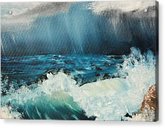 Stormy Night Acrylic Print by Katheryn Napier