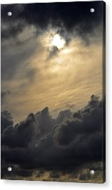 Acrylic Print featuring the photograph Stormy Skies by Sarah McKoy