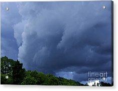 Stormy Summer Sky Acrylic Print by Thomas R Fletcher