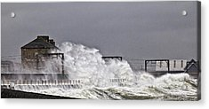 Stormy Weather Acrylic Print by Fiona Messenger