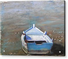 Acrylic Print featuring the painting Stranded by Cindy Plutnicki