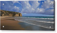 Strands Beach Dana Point Painting Acrylic Print
