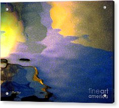 Acrylic Print featuring the digital art Strange Landscape 2 by Dale   Ford