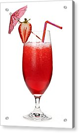 Strawberry Daiquiri Acrylic Print