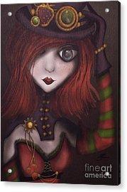 Strawberry Shortcake Steampunk Acrylic Print