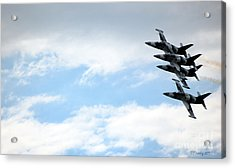 Streaking Across The Sky Acrylic Print