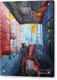 Street 2 Acrylic Print by Bekim Mehovic