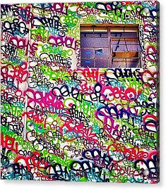 Street Art Acrylic Print by Julie Gebhardt