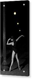 Street Ballet Acrylic Print