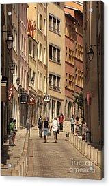street in Lyon  Acrylic Print