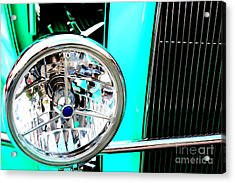 Acrylic Print featuring the digital art Street Rod Beauty by Tony Cooper
