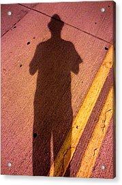 Street Shadows 001 Acrylic Print by Lon Casler Bixby