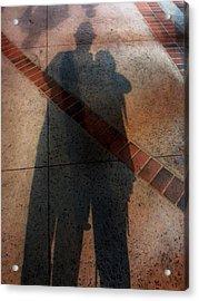 Street Shadows 002 Acrylic Print by Lon Casler Bixby