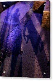 Street Shadows 004 Acrylic Print by Lon Casler Bixby