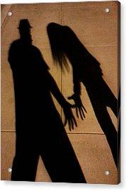 Street Shadows 006 Acrylic Print