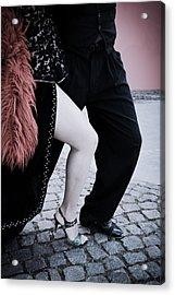 Street Tango Acrylic Print