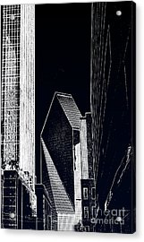 Acrylic Print featuring the photograph Streets Of Dallas by Joe Finney