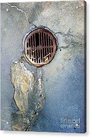 Streets Of La Jolla 7 Acrylic Print by Marlene Burns