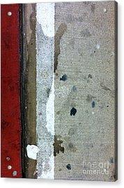 Streets Of New York Abstract Twelve Acrylic Print by Marlene Burns
