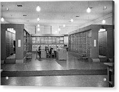 Strela Computer, 1956 Acrylic Print by Ria Novosti