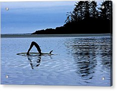 Acrylic Print featuring the photograph Stretching by Scott Holmes