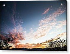 Striated Sunrise Acrylic Print