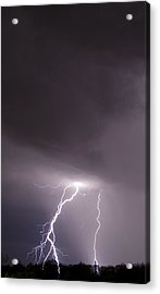 Acrylic Print featuring the photograph Strike by John Crothers