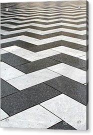 Stripes Acrylic Print by Linda Woods