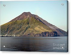 Stromboli Volcano, Aeolian Islands Acrylic Print by Richard Roscoe