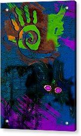 Strong Gris Gris Acrylic Print