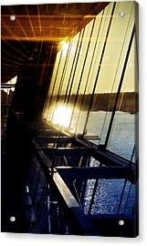 Acrylic Print featuring the photograph Structural Vision by JM Photography