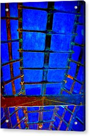 Structure Acrylic Print by Randall Weidner