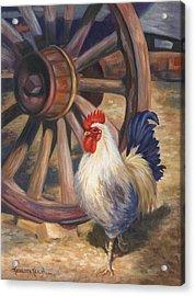 Struts Acrylic Print by Kathleen  Hill
