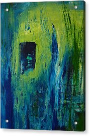 Acrylic Print featuring the painting Stuck Inside by Everette McMahan jr