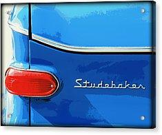 Studebaker 2 Acrylic Print by Elizabeth Budd